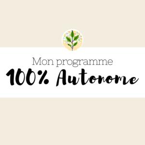 logo programme 100% autonome